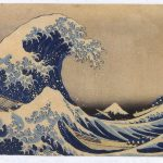 "In this image provided by the Japan Information and Culture Center, ""Thirty-Six Views of Mount Fuji: The Hollow of the Great Wave off Kanangawa (The Big Wave) by Katsushika Hokusai is seen.  ""Ukiyo-E"" from the Kawasaki Isago no Sato Musuem opens Friday, May 20, 2005 at the Japan Information and Culture Center at the Japanese Embassy in Washington and closes July 12, 2005.   (AP Photo/Japan Information and Culture Center)"