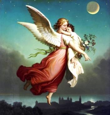Gli angeli tra noi parte 2 l 39 isola delle colombe for Immagini da colorare di angeli